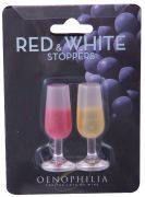Wine Stem Red & White