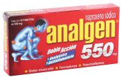 Analgen 550 Mg Tabletas 12 pz