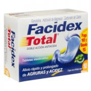 Facidex Total Tabletas Masticables 10 gr