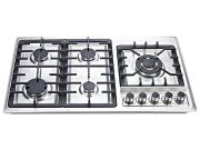Parrilla Empotrable A Gas DISA HOME Acero Inoxidable 86 cm PAEM-5B - Plata