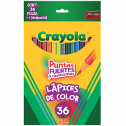 Lapices de Color 36 Piezas 36 pz