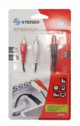 Cable M.255045 Doble Rca a 3.5 Stere