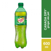 Refresco Canada Dry Ginger Ale 600 ml