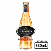 Sidra Honey& Apple Botella 330 ml