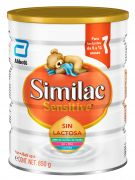 Formula Similac Sensitive sin Lactosa 850 gr