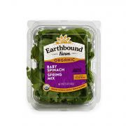 Earthbound Farm Baby Spinach & Spring Mix