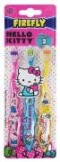 Hello Kitty 3 Pack Ziggy Cepillo Dental Hello Ki