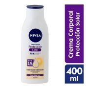 Crema Corporal Proteccion Uv Fps15 400 ml