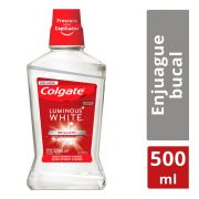 Enjuague Bucal Colgate Plax Luminous White Enjua 500 ml