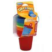 Vaso con Tapa Take & Toss Pack 6 pz