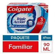 Tp Clgte Triple Accion Whitening 3x90ml Tp Clgte 270 ml