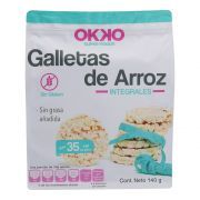 Galleta de Arroz Integ 140 gr