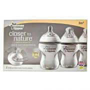 Biberon Closer To Nature 9 oz 3 pz
