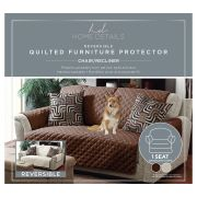 Protector de Sillon Individual Chocolate Taupe