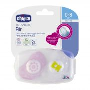 Chupon Physio Air Pink 0-6 M 6 pz