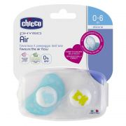 Chupon Physio Air Blue 0-6m 6 pz