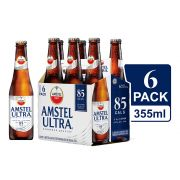 Cerveza Ultra 6 Pack Botella 355 ml
