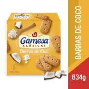 Gamesa Galleta Barras de Coco 634gr 634 gr