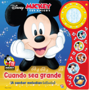 Libro con Luces Mickey Mouse