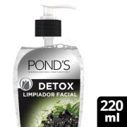 Jabon Facial Ponds Jab Fac Detox 220 ml