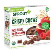 Crispy Chews Red Berry And Beet 89 gr