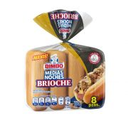 Pan para Hot Dog Brioche 384 gr