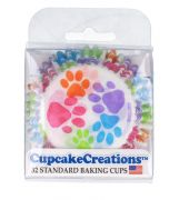 Capacillos Paw Prints Baking Cups
