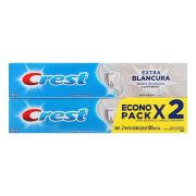 Pasta Dental Crest Extra Blancura 2 Pack 100 ml 2 pz