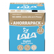 Leche Light 1 Six 6 lt