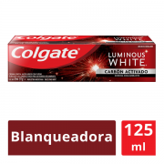 Crema Dental Luminous White Carbón Activado 125 ml