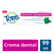 Crema Dental Natural Antiplaca 99 ml