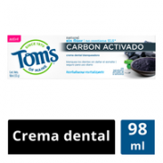 Crema Dental Natural Carbon Activado 98 ml