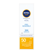 Nivea Bloqueador Protector Facial Sensitive Fps50 50 ml