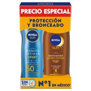 Pack Sun Protect And Refresh + Golden Bronze Pac 2 pz