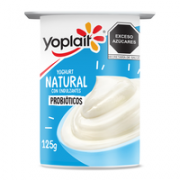 Yogurt Solido Natural 125 gr