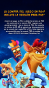 Videojuego Ps4 Crash Bandicoot 4 Its About Time