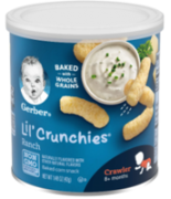 Lil Crunchies Crunchies Snack Ranch 42 gr