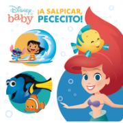 Bath Book Disney Baby Splishy Fishy