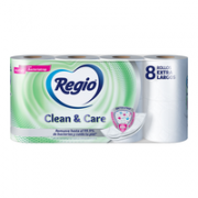 Papel Higienico Clean And Care 8 pz