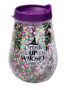 Vaso Drink Up Witches Doble Pared con Tapa 10oz (