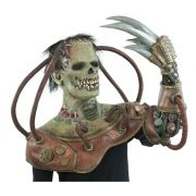 Máscara de Látex Steampunk Frankenstein, De Licencia Original Nightmare Collection, por  Mario Chiodo´s
