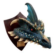 Smolder the Black Dragon - Trophy, Decorativo De Licencia Original Nightmare Collection, por  Mario Chiodo´s