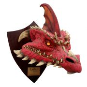 Ember the Red Dragon - Trophy, Decorativo De Licencia Original Nightmare Collection, por  Mario Chiodo´s