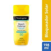 Protector Solar Beach Defence Spf50 198 ml