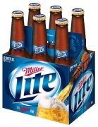 Cerveza Light 6 Pack Botella 355 ml