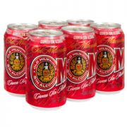Cerveza S/Alcohol Six Pack Lata 355 ml