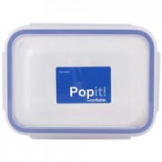 Hermetico Rectangular 300ml Popit 1 ce