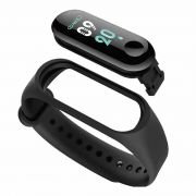 Smart Band Tracker Color Screen Fitness (Sb3 Black)
