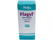 Flagyl 500 Mg 30 Comprimidos Metronidazol 30 pz