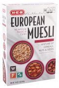 Cereal Muesli Europeo Nueces y Semillas 453gr 453 gr